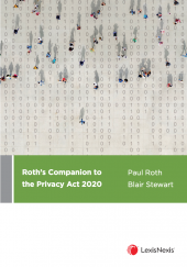 Roth's Companion to the Privacy Act 2020 cover