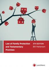 Law of Family Protection and Testamentary Promises, 5th edition cover
