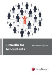 LinkedIn for Accountants: Connect, engage and grow your business - LN Red Book cover