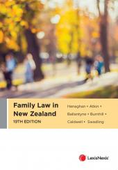 Family Law in New Zealand, 19th edition cover