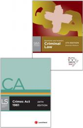 Criminal Law Bundle cover