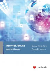 internet.law.nz, revised 4th edition - LN Red Book cover