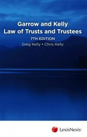Garrow and Kelly Law of Trusts and Trustees, 7th edition -LN Red Book cover