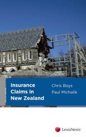 Insurance Claims in New Zealand - LN Red Book cover