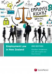 Employment Law in New Zealand, 2nd edition - LN Red Book cover
