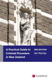 A Practical Guide to Criminal Procedure in New Zealand, 2nd edition - LN Red Book cover