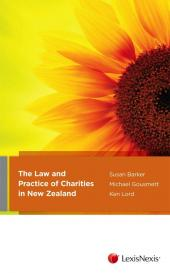 The Law and Practice of Charities in New Zealand - LN Red Book cover