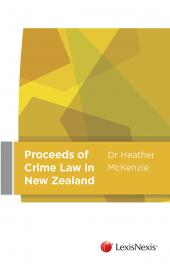 Proceeds of Crime Law in New Zealand - LN Red Book cover