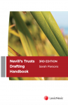 Nevill's Trusts Drafting Handbook, 3rd edition cover