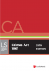 Crimes Act 1961, 25th edition cover