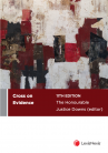 Cross on Evidence, 11th edition cover